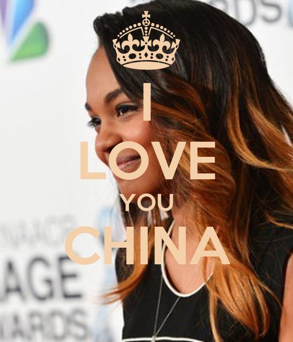 I LOVE YOU CHINA