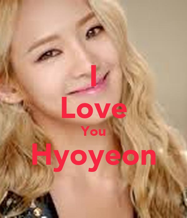 I Love You Hyoyeon