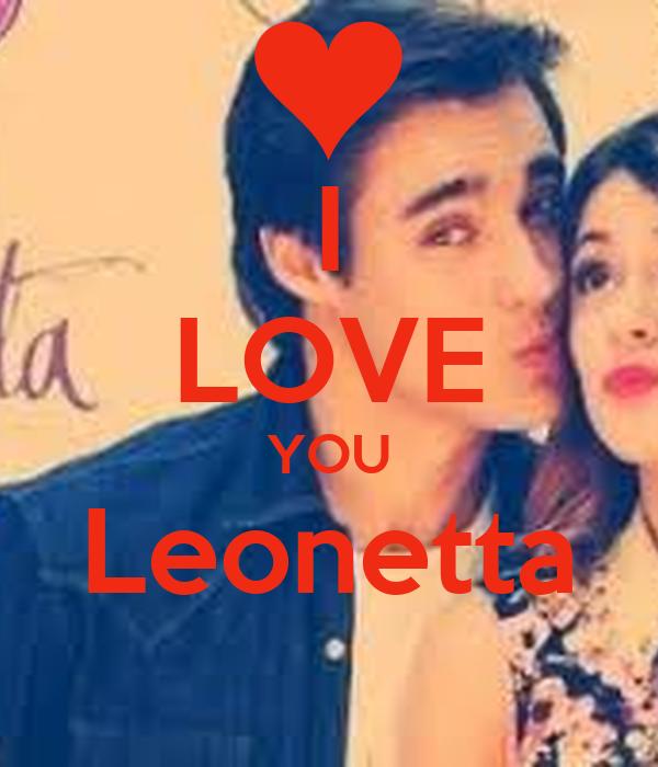 I LOVE YOU Leonetta