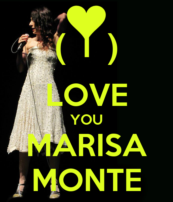 (  I  ) LOVE YOU MARISA MONTE