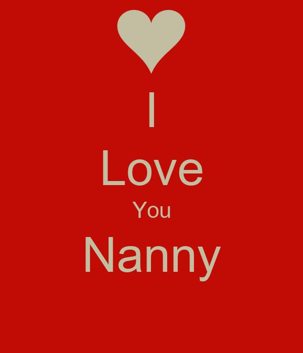 I Love You Nanny