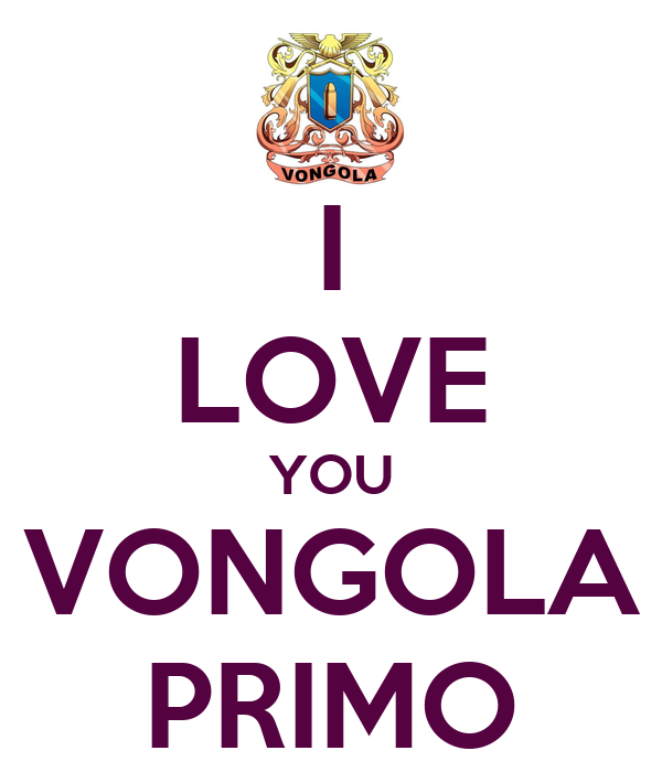 I LOVE YOU VONGOLA PRIMO