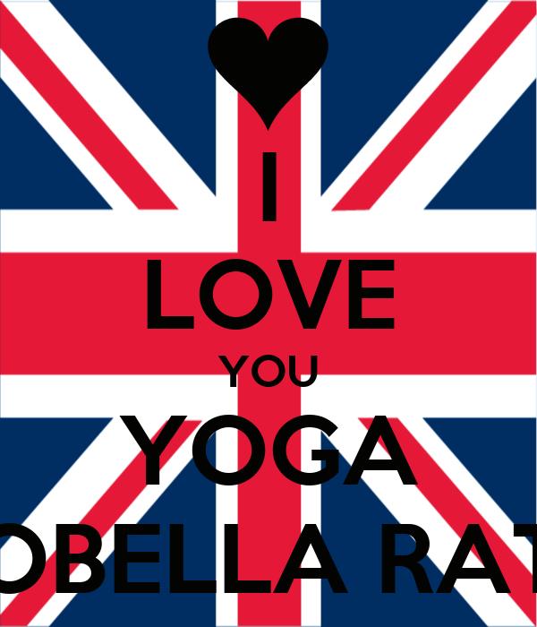I LOVE YOU YOGA YOBELLA RATU