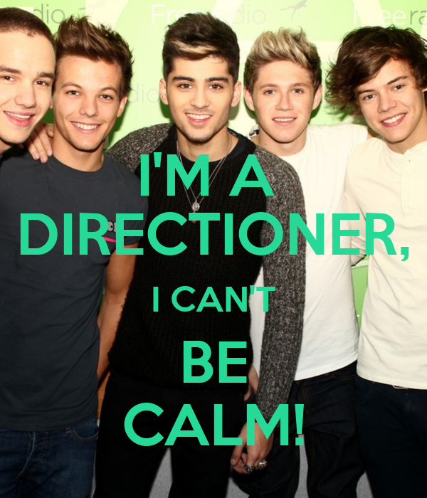 I'M A  DIRECTIONER, I CAN'T BE CALM!
