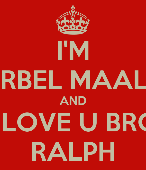 I'M CHARBEL MAALOUF AND I LOVE U BRO RALPH