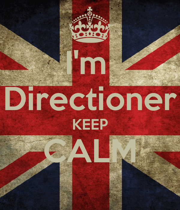 I'm  Directioner KEEP CALM