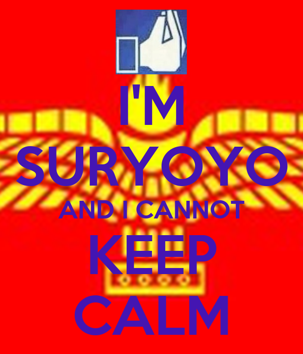 I'M SURYOYO AND I CANNOT KEEP CALM