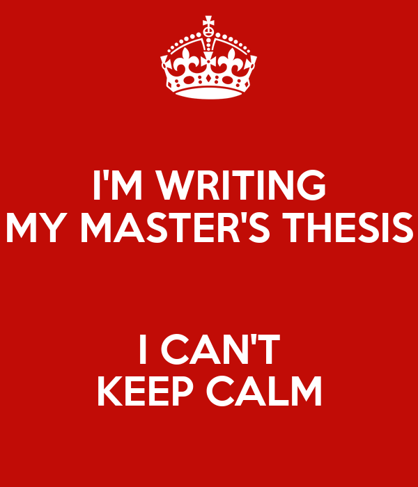 i wrote my thesis on Written by dora farkas, phd, founder of finish your thesis i thought about quitting graduate school in the beginning of my 6th year i was almost certain that there was no way that i could graduate that year, or ever for that matter.
