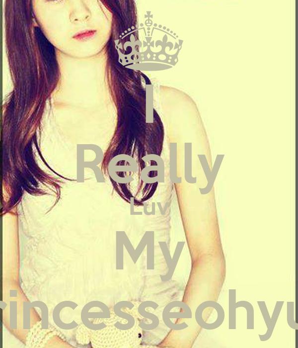 I Really Luv My Princesseohyun