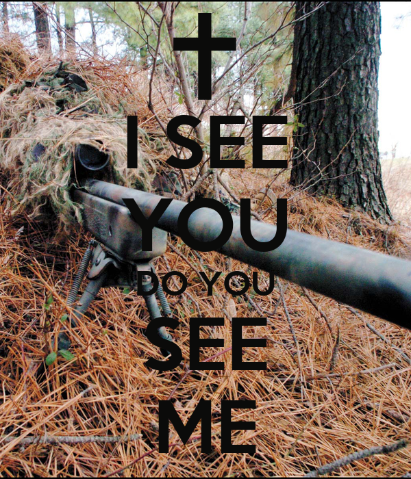 I SEE YOU DO YOU SEE ME