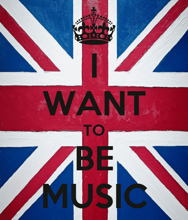 I WANT TO BE MUSIC