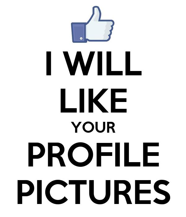 I like your profile