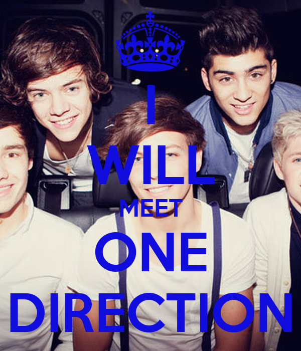 I WILL MEET ONE DIRECTION