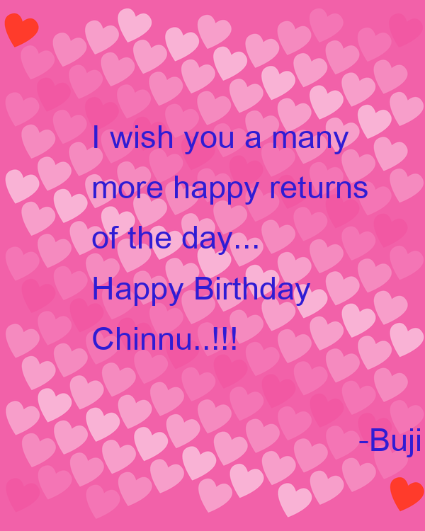 I Wish You A Many More Happy Returns Of The Day Happy Happy Birthday I Wish You Many More