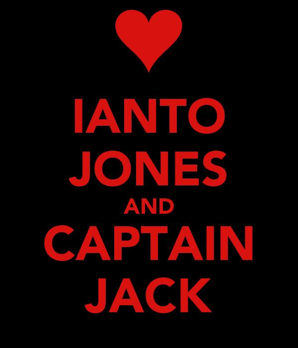 IANTO JONES AND CAPTAIN JACK