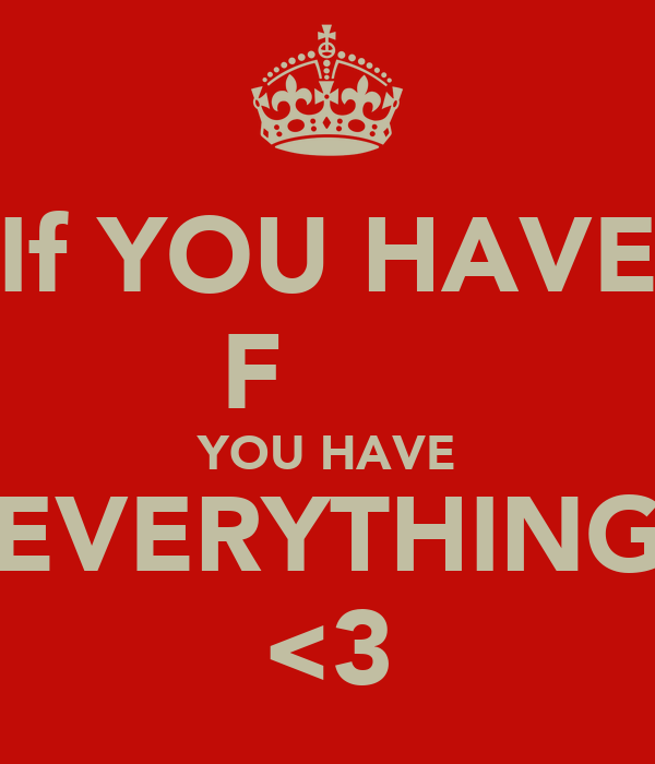 If YOU HAVE  FΑЯΑҺ♥  YOU HAVE EVERYTHING <3