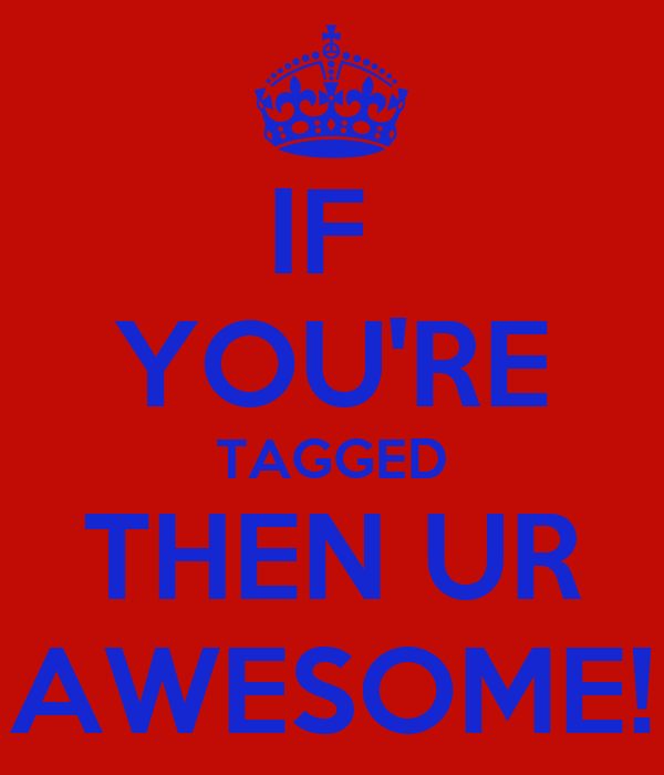 IF  YOU'RE TAGGED THEN UR AWESOME!