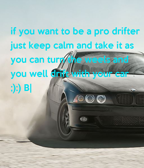how to become a car drifter