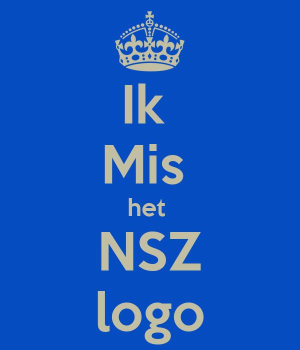 Ik  Mis  het  NSZ logo