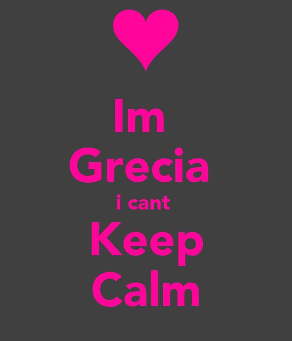 Im  Grecia  i cant  Keep Calm