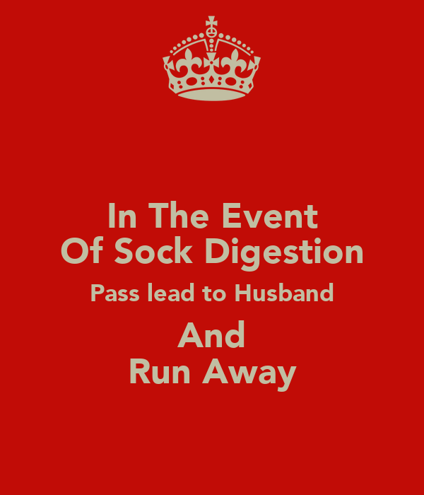 In The Event Of Sock Digestion Pass lead to Husband And Run Away