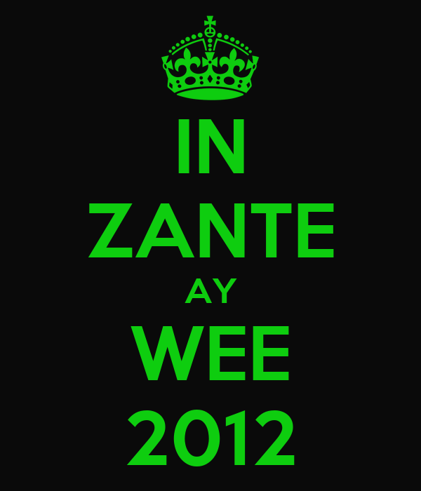 IN ZANTE AY WEE 2012