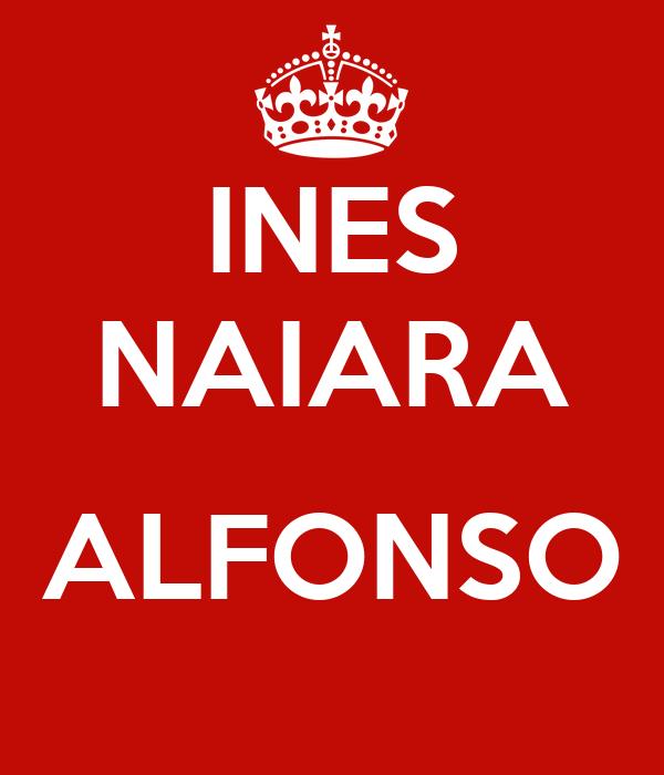 INES NAIARA  ALFONSO