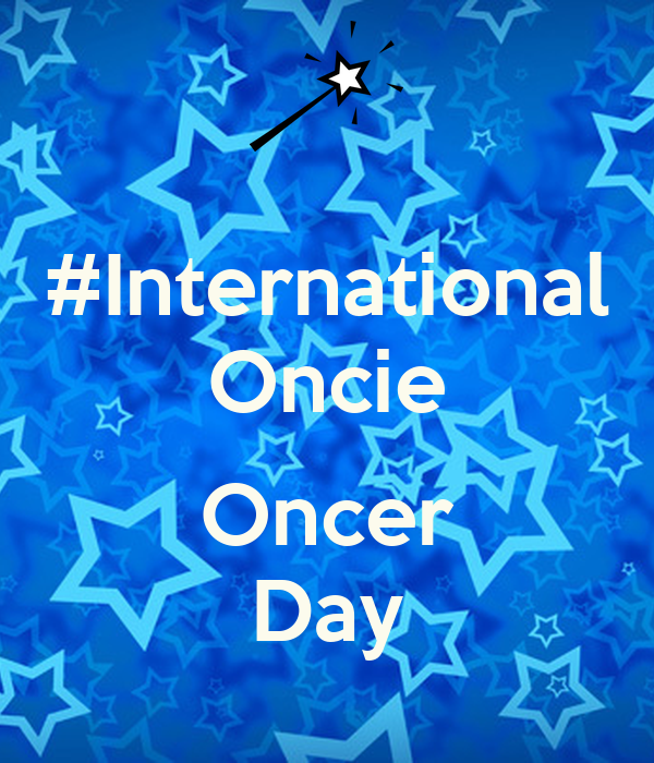 #International Oncie  Oncer Day