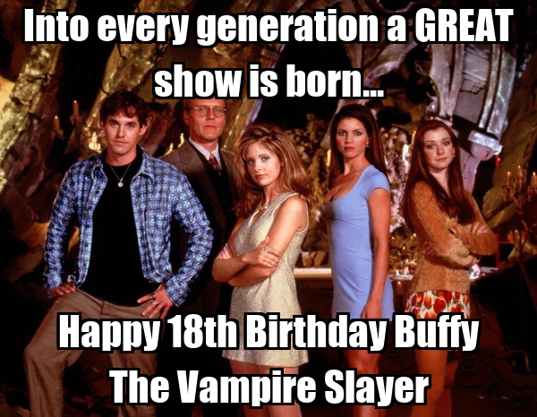 Into Every Generation A Great Show Is Born Happy 18th Birthday