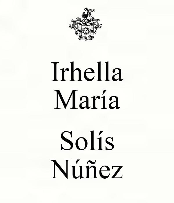 Irhella María  Solís Núñez