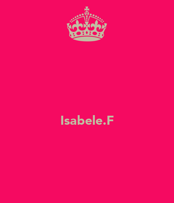 Isabele.F