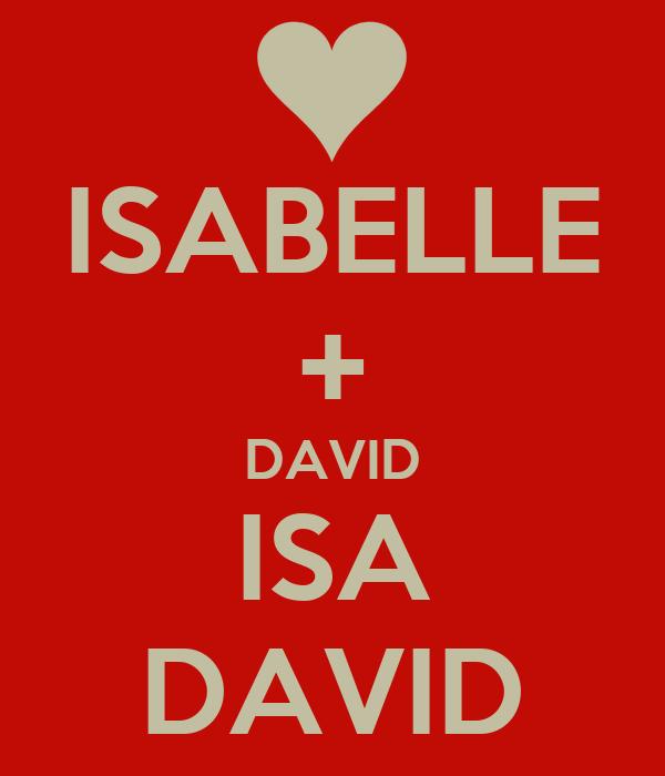 ISABELLE + DAVID ISA DAVID