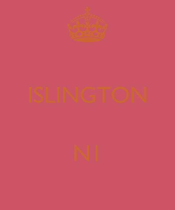 ISLINGTON  N1