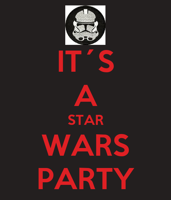 IT´S A STAR WARS PARTY