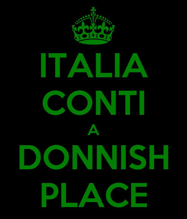 ITALIA CONTI A DONNISH PLACE