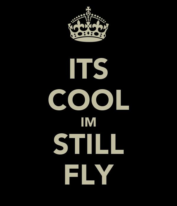 ITS COOL IM STILL FLY