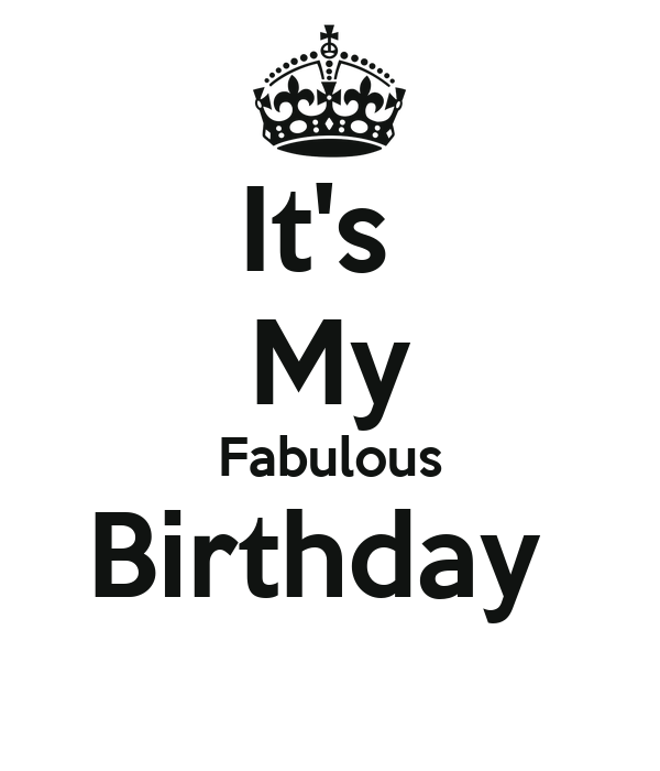 It's  My Fabulous Birthday