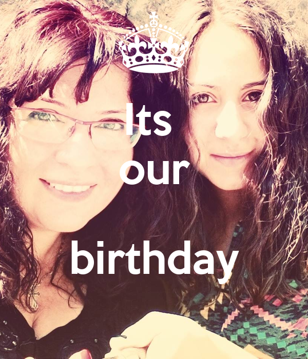 Its  our  birthday
