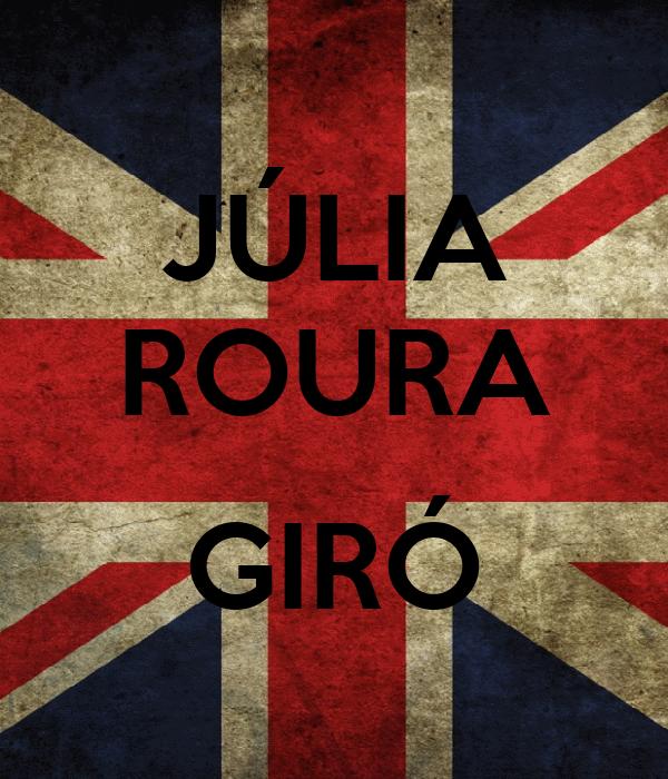 JÚLIA ROURA  GIRÓ