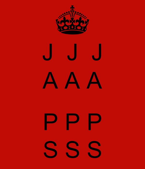 J  J  J A A A  P P P S S S