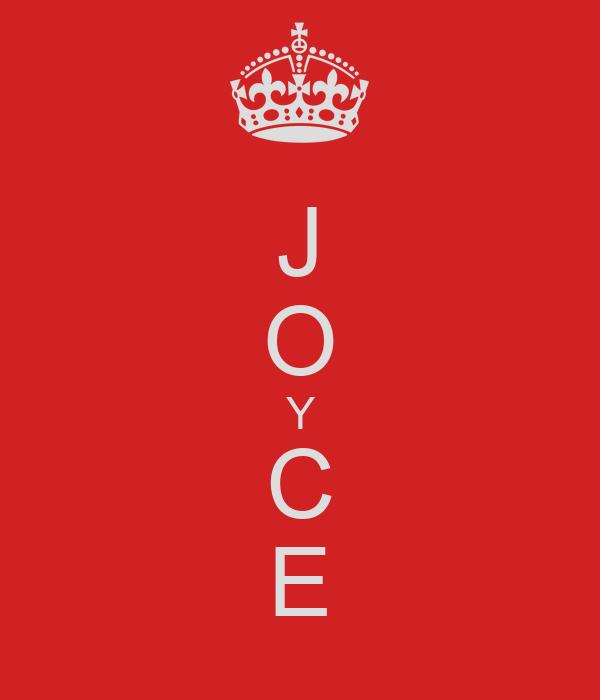 J O Y C E