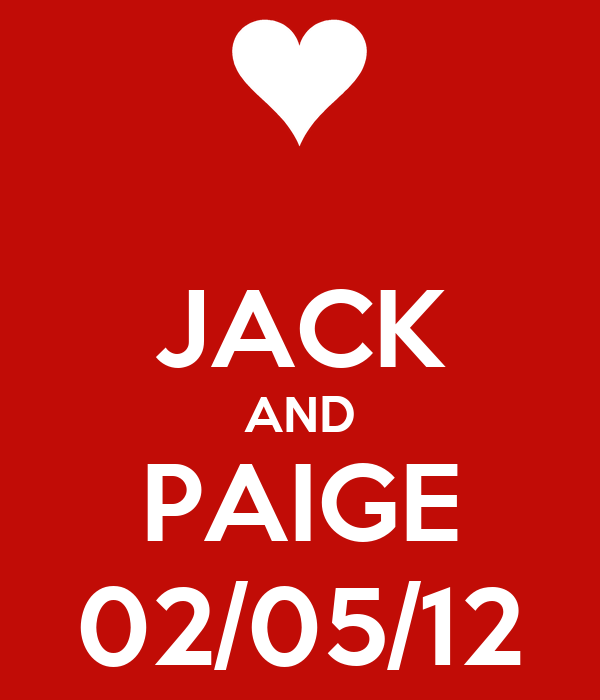 JACK AND PAIGE 02/05/12