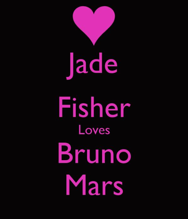 Jade Fisher Loves Bruno Mars