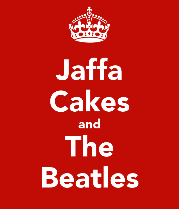 Jaffa Cakes and The Beatles