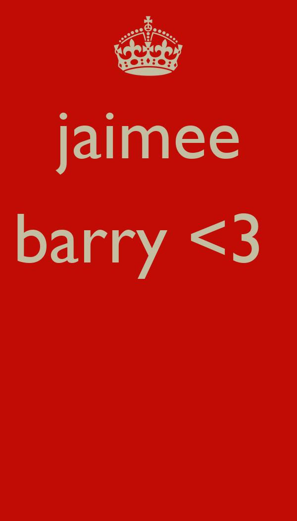 jaimee barry <3