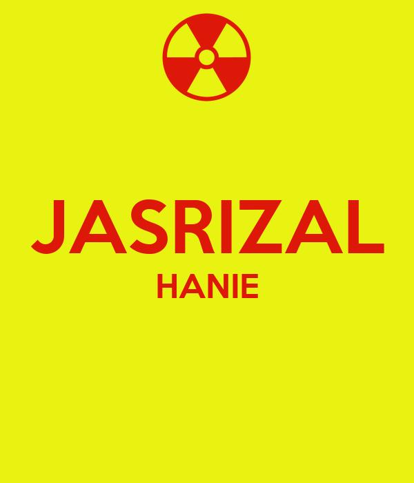 JASRIZAL HANIE