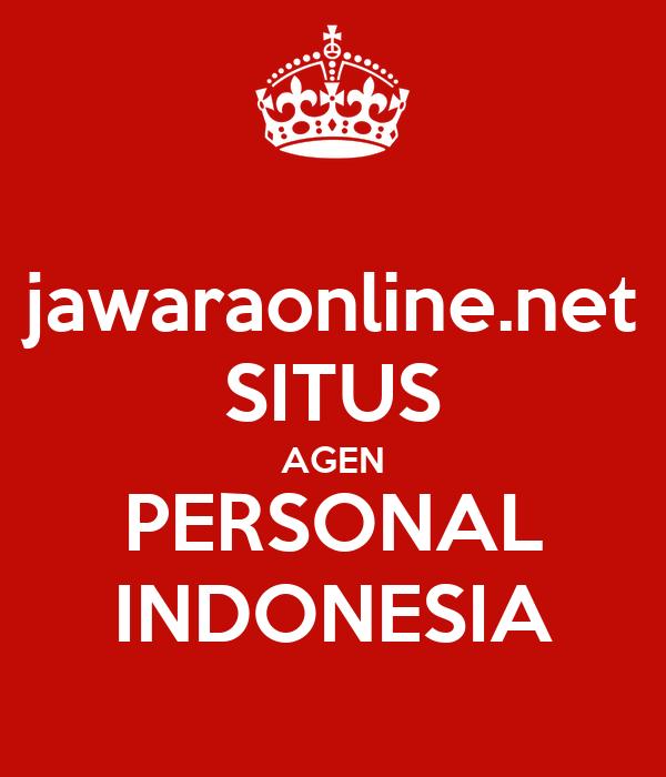 jawaraonline.net SITUS AGEN PERSONAL INDONESIA