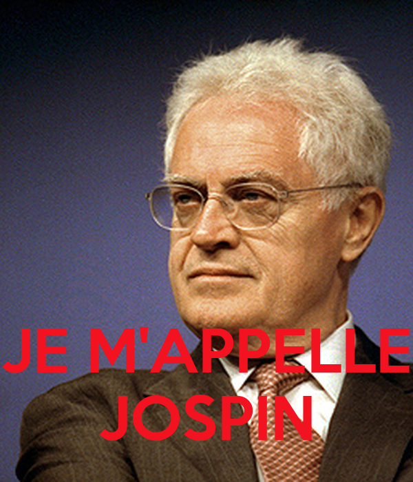 JE M'APPELLE JOSPIN