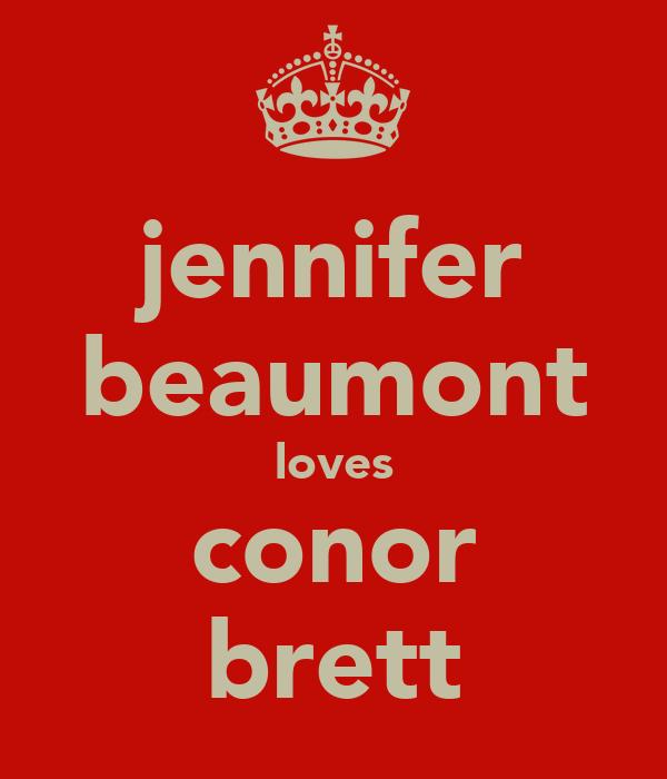 jennifer beaumont loves conor brett