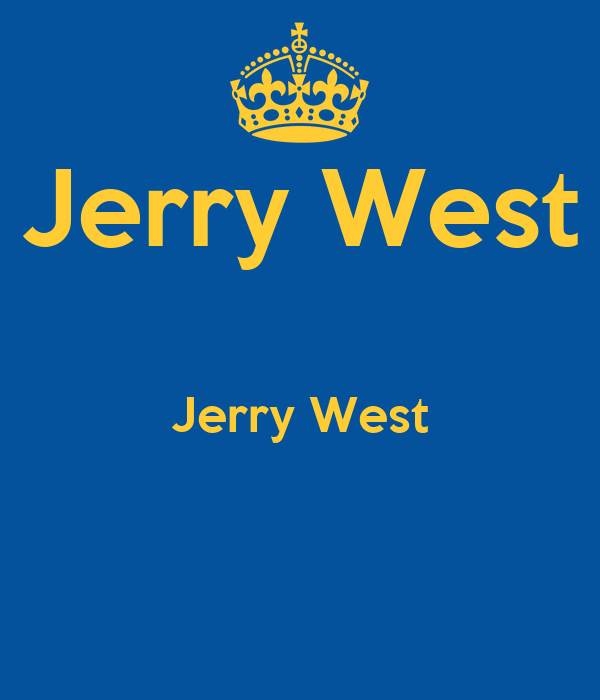Jerry West  Jerry West